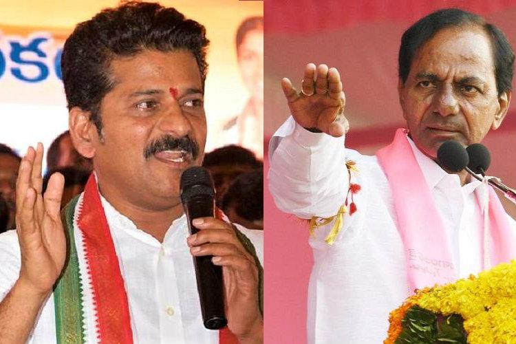 TRS chief KCR enrolled as voter in two places alleges Congress Revanth Reddy
