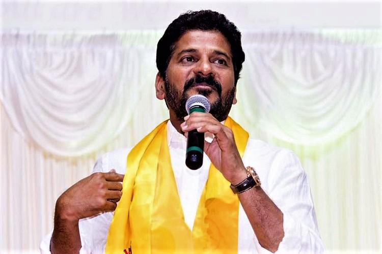 Disqualify 9 TRS MLAs for holding office of profit Revanth Reddy writes to EC
