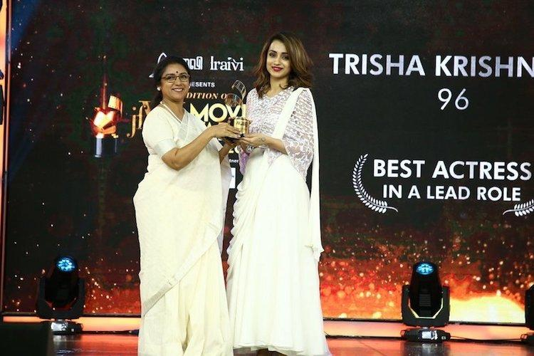 In pictures Trisha Aishwarya Rajesh Revathy and others win JFW Awards