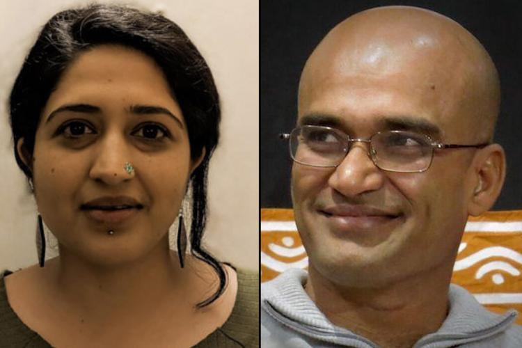 Rheea Mukherjee and Vasudhendra