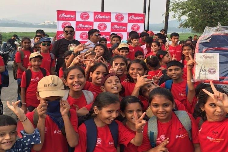 10 bikers 15 cities A fundraiser ride across India in support of girls education