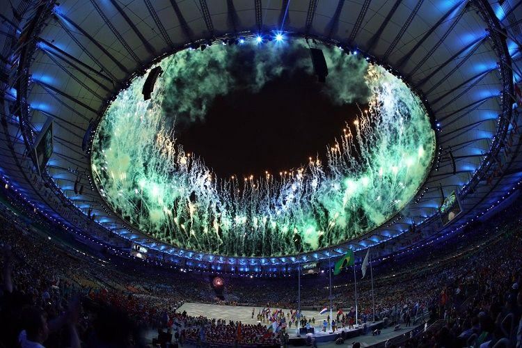 In pictures Rio Olympics close with stunning three-hour extravaganza