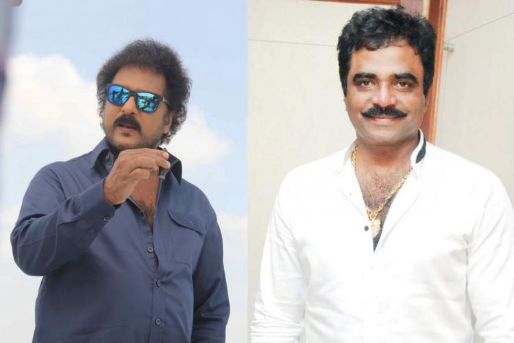 V Ravichandran and Rockline Venkatesh
