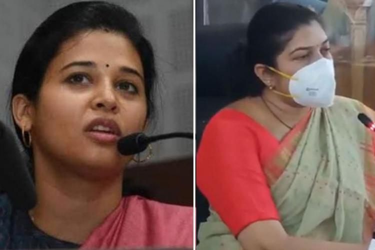 Rohini Sindhuri Shilpa Nag collage