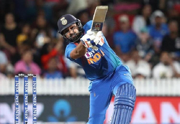 Sharma six gives India T20 series