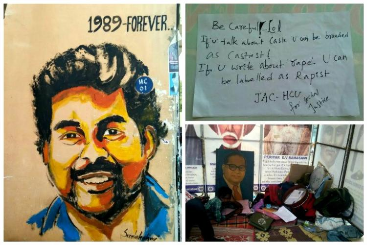 Rohith Vemula Suicide JAC threatens statewide protests if their demands are not met