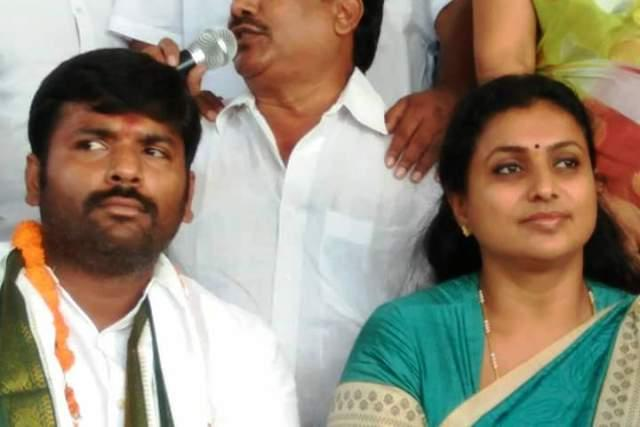 If TDP had able leaders it wouldnt encourage defections Roja lashes out at Naidu