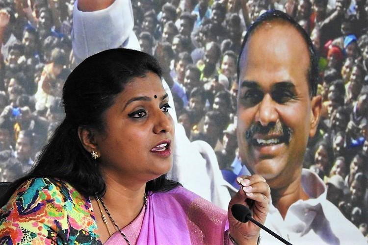 Andhra CM looking to ally with Congress TDP must be voted out YSRCP MLA Roja
