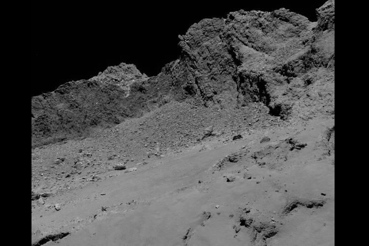 Rosetta says goodbye Spacecraft captures stunning final photos of comet surface
