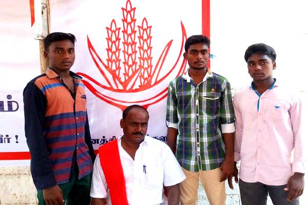 Meet Communism Leninism and Socialism sons of proud Leftist father contesting TN polls