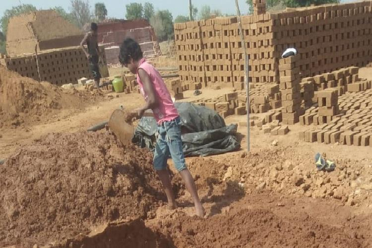 Seven children working in harrowing conditions at brick kiln near Hyderabad rescued