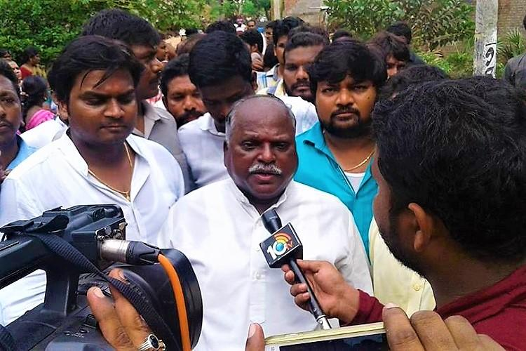 SC panel member visits tense AP village confirms Dalits faced boycott over Ambedkar statue