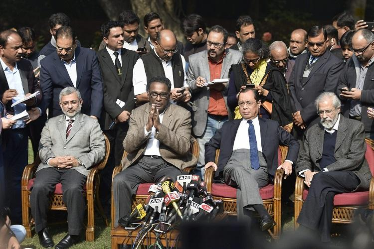 Rebellion at the Supreme Court 4 judges led by Justice Chelameswar take on CJI