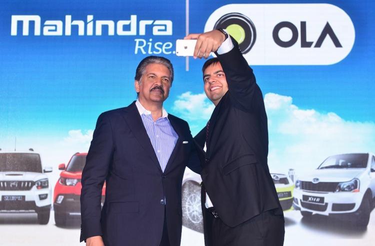Mahindra Mahindra and Ola enter into strategic tie-up
