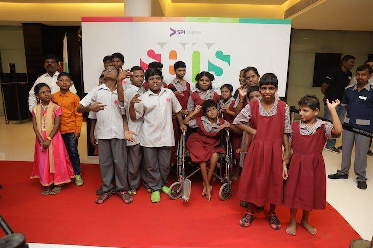 Cinema for everyone Chennai multiplex now screens shows for persons with disabilities