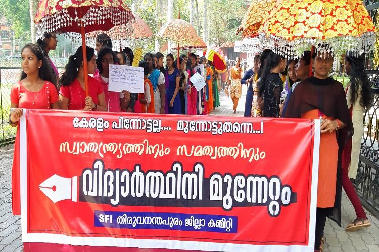 Kerala marches forward not backwards SFI extends support to Sabarimala verdict