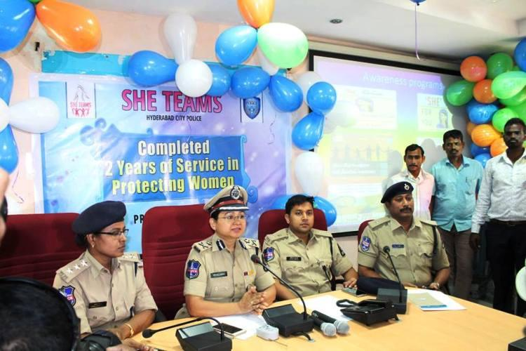 Two years of SHE teams at work Hyderabad reports big drop in crimes against women