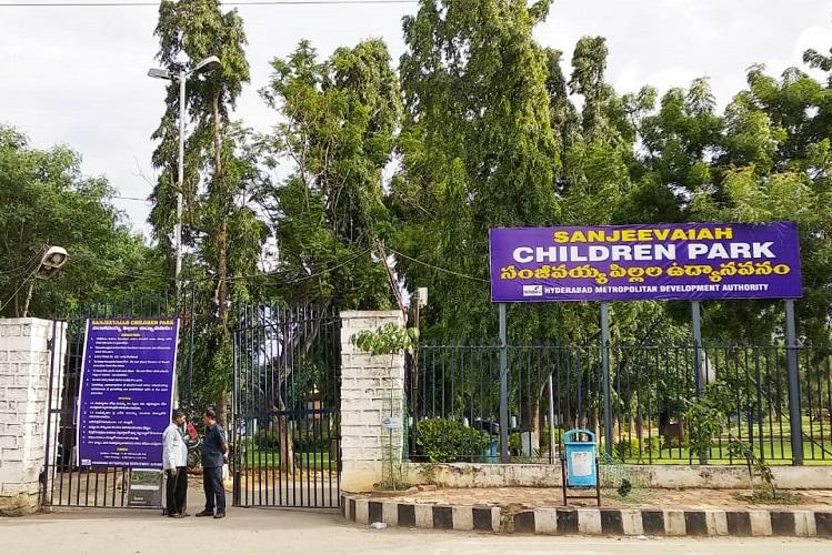 Hyds Sanjeevaiah park now children-only adults unaccompanied by kids not allowed