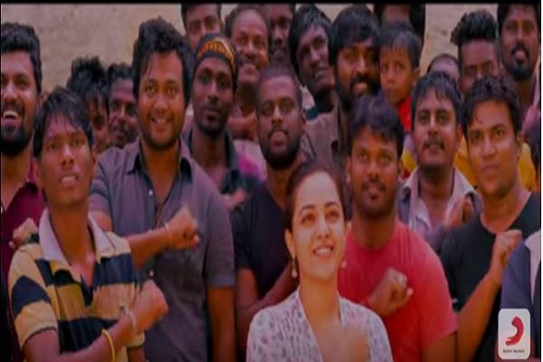 Chennai city is going crazy over actor Vikrams moving Spirit of Chennai video