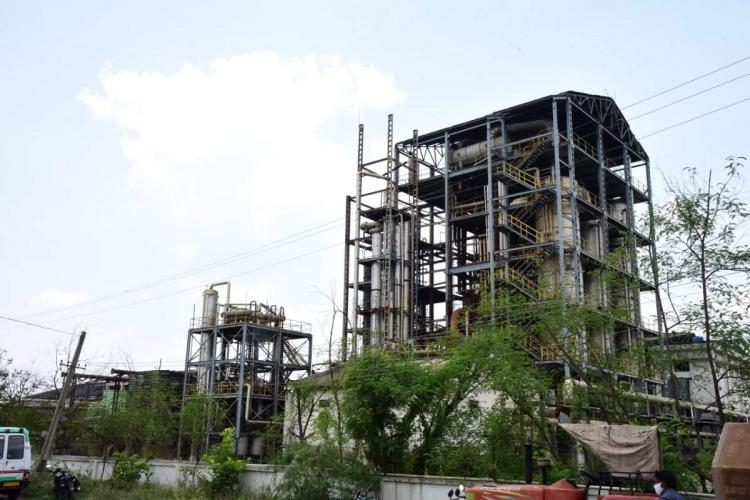 The SPY factory in Nandyal where a gas leak occured