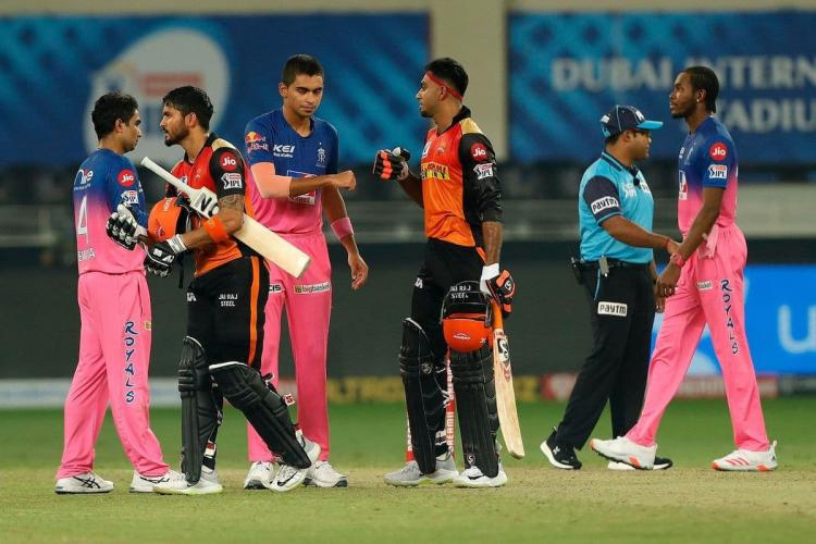Rajasthan Royals keep playoff hopes alive with win over Sunrisers