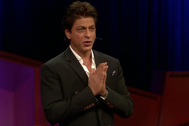 Watch Shah Rukh Khan on fame the internet and why we need to love in his TED Talk