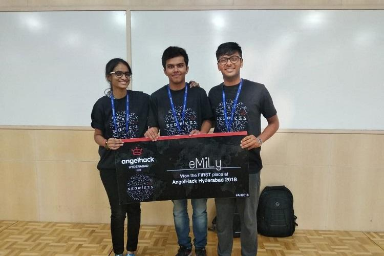 Students from SRM University Tech Lab win Angelhack Hackathon in Hyderabad