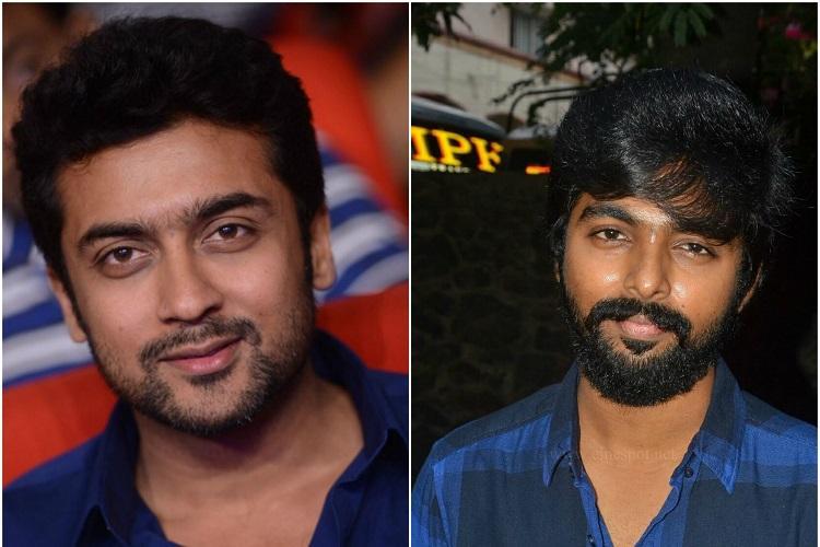 Suriya and GV Prakash to collaborate