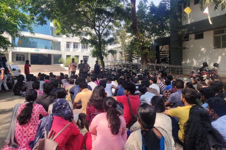 TN college students boycott classes after promise of merger with Central Uni not kept