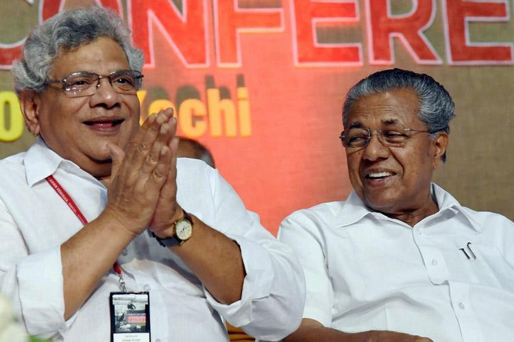 Yechury re-elected as CPI M gen secy vows to oust Modi govt