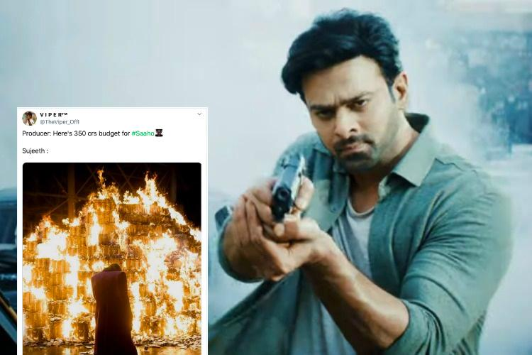 Prabhass Saaho fails to impress but the memes on the film are pure gold