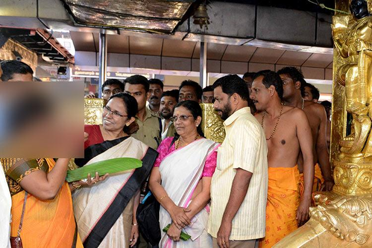 Controversy erupts in Kerala over charges of under-50 woman entering Sabarimala