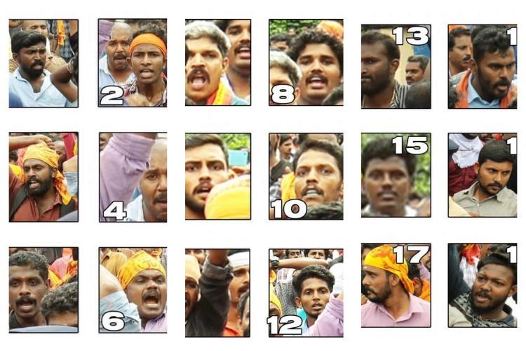 Kerala cops release CCTV images of 210 men indulging in violence in Sabarimala