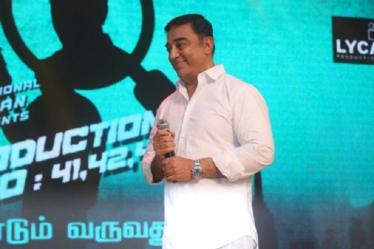 Kamal Haasan to host Big Boss Tamil
