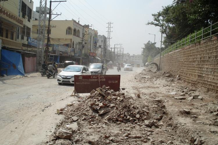 Brace yourself Hyderabad 3572km of roads to be dug up for infra works