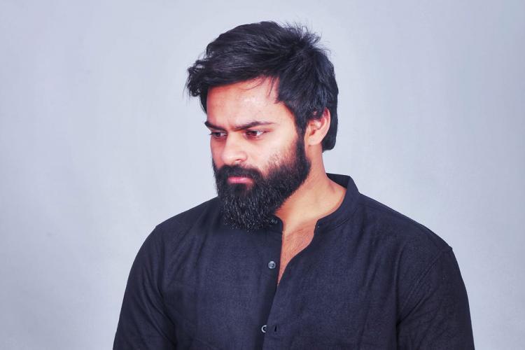 Actor Sai Dharam Tej