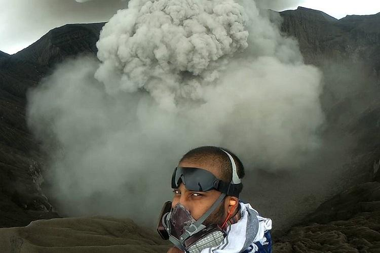 I was afraid of lava so I decided to conquer my fear Meet the volcano man of Hyderabad