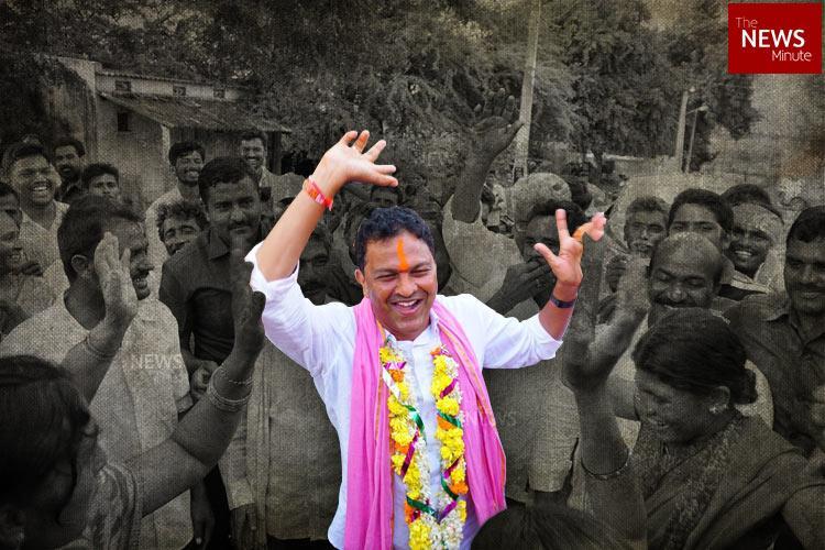 TRS thumps Congress to win in Telanganas Huzurnagar bye-poll