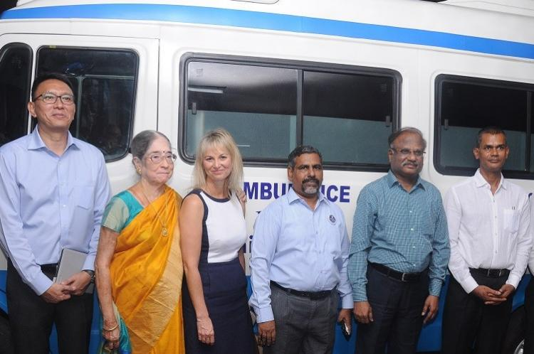 Retired seafarers can now enjoy free medical care thanks to Sailors Society in Chennai