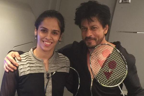 When Shah Rukh Khan made Saina Nehwals day