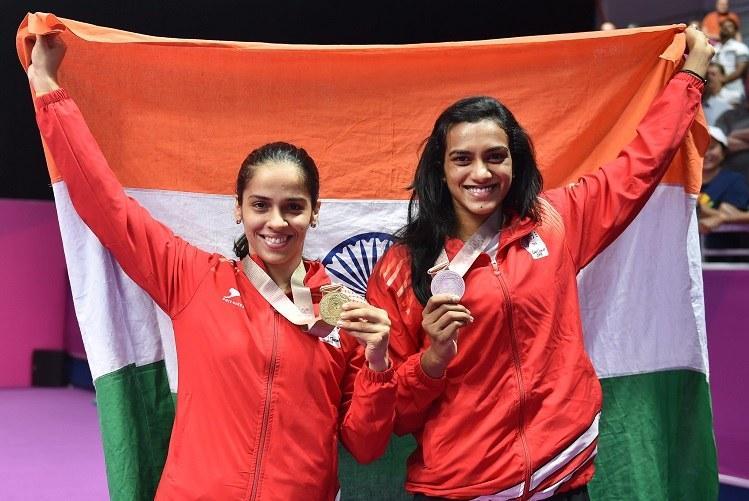 CWG 2018 Saina Nehwal beats P V Sindhu to win gold in womens singles