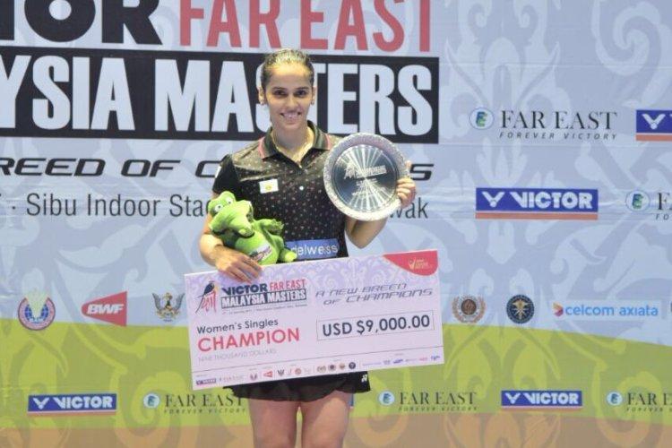 Saina Nehwal makes perfect comeback clinches Malaysia Masters title