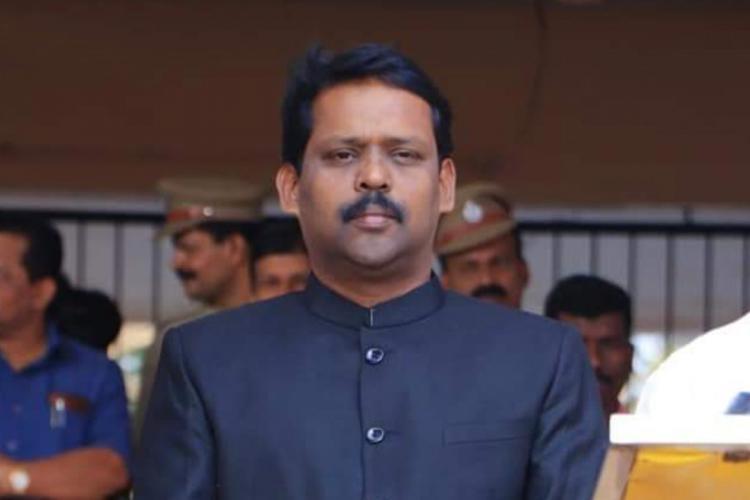 Sajith Babu IAS Facebook photo