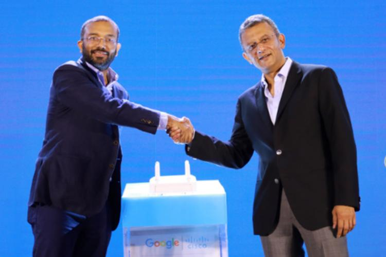 Cisco joins Google to launch free public Wi-Fi in India