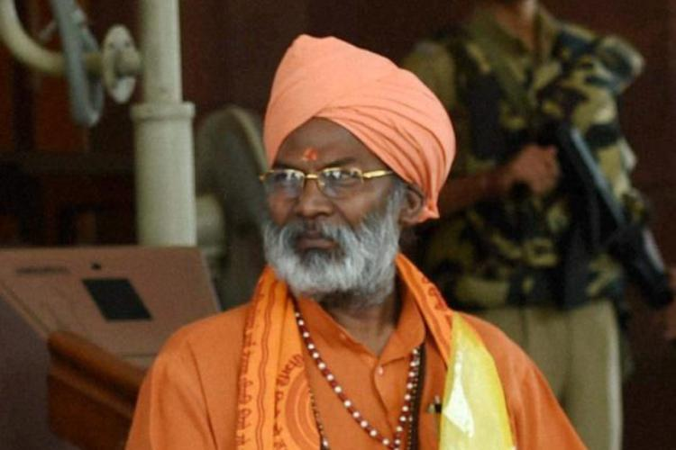 EC sends show cause notice to Sakshi Maharaj for four wives 40 children remark