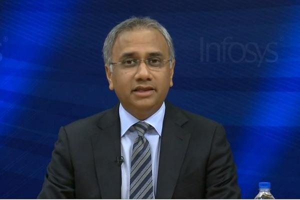 Hope to build a stronger Infosys be connected with founders CEO Salil Parekh