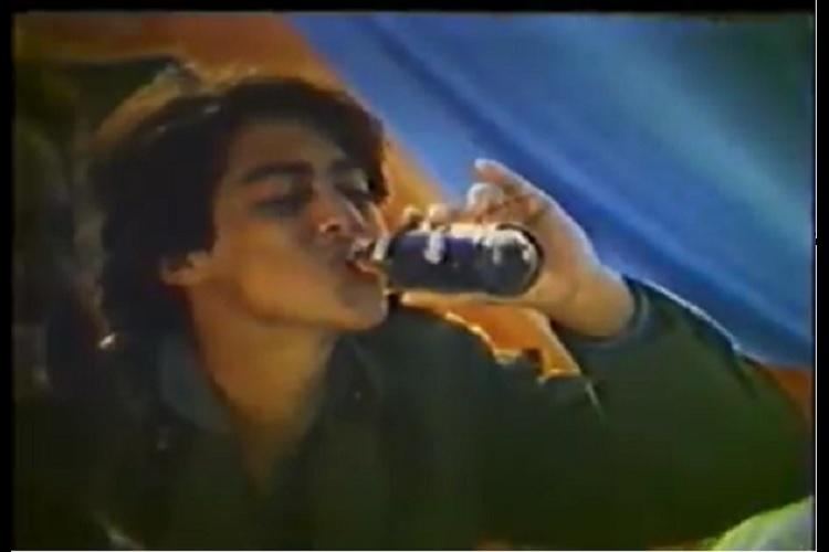 Watch 15-year-old Salman Khan first time on camera in this Campa Cola ad of yore