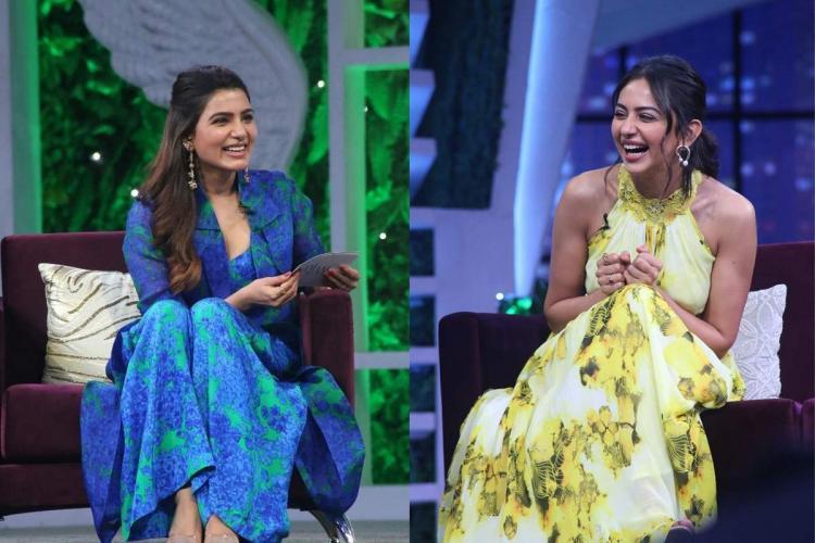 Rakul Preet Singh to appear on Samanthas talk show Sam Jam