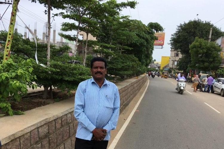 How a Telangana govt official is guarding trees and saplings in his district
