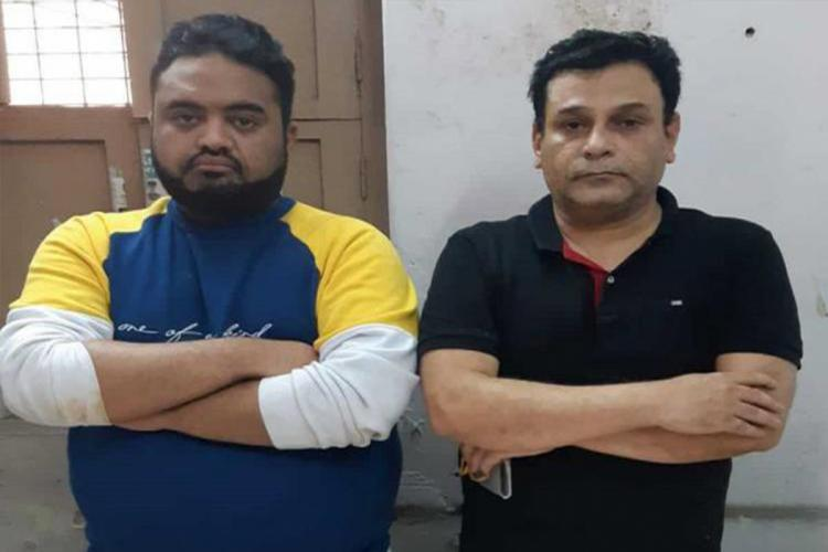 Md Shoaib Subhani and Abdul Mujeeb who are accused of posing as doctors and allegedly even treating patients